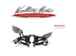Pedane Race Valtermoto T3.5 Yamaha R1 '15