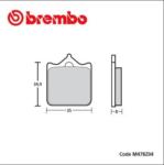 kit pastiglie Brembo Z04 per pinze P4-43